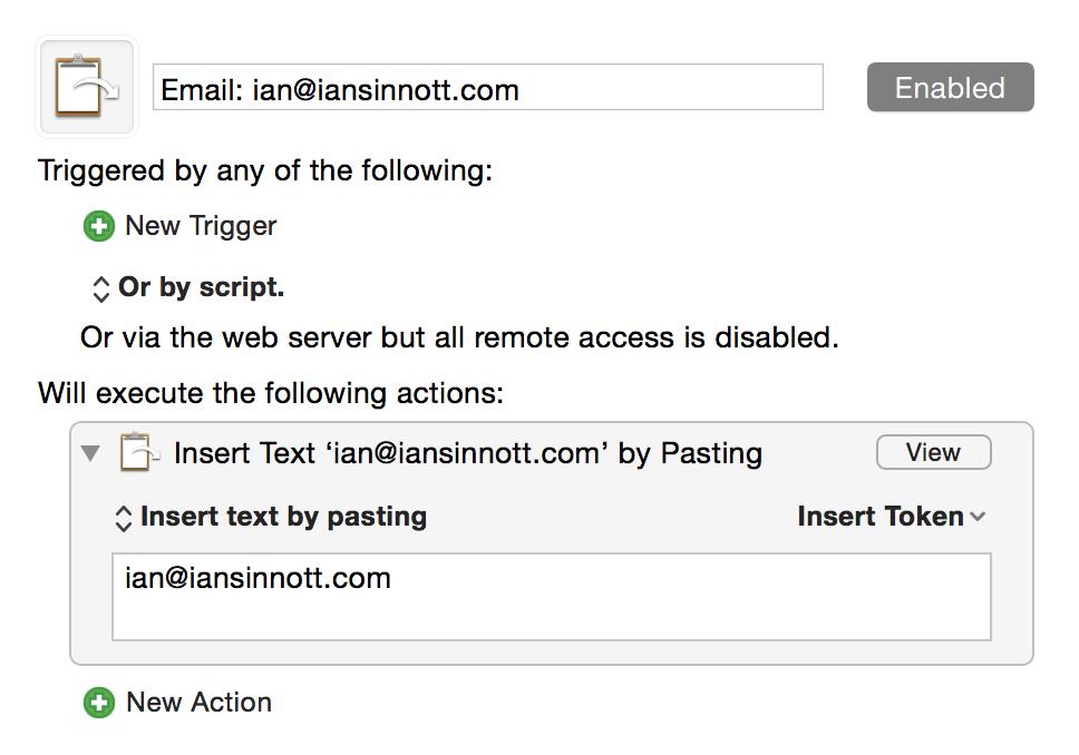 Email Macro